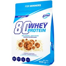 6PAK 80 Whey Protein 908g